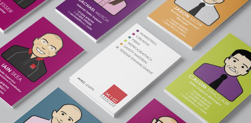 XIC Business Cards